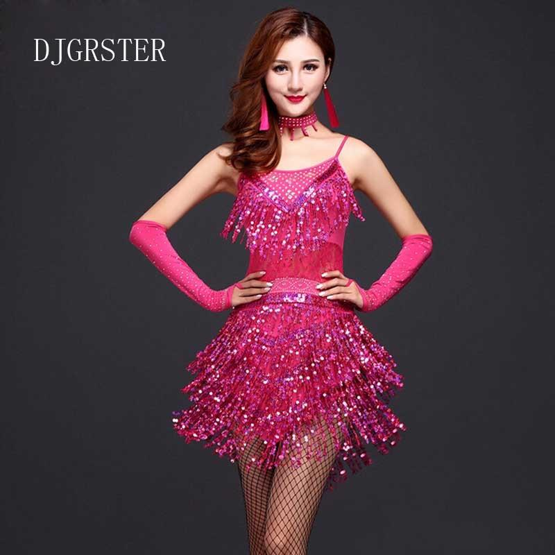 El más nuevo diseño de mujeres vestido de baile latino mujeres - Novedad