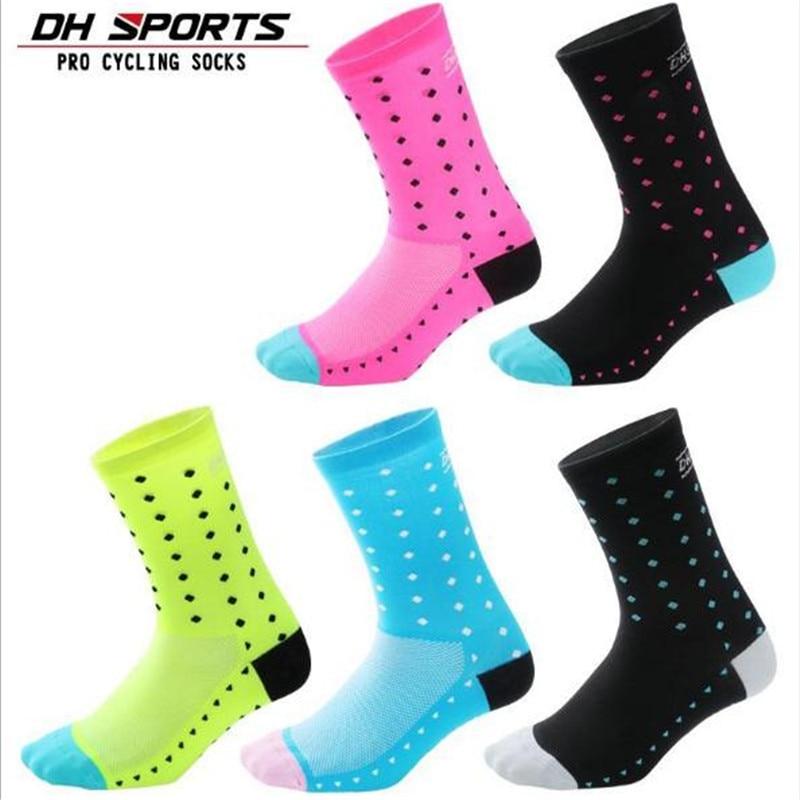 Cycling Socks (3 Pairs/lot) DH SPORTS/DH04 Nylon Men Sports Basketball Outdoor Hiking