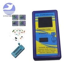 M328 testador multi propósito transistor, diodo resistor esr capacitância lcr meter portátil novo componente