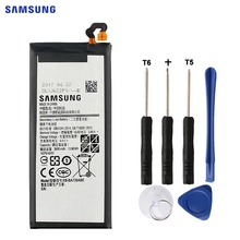 SAMSUNG Original Replacement Battery EB-BA720ABE For Samsung GALAXY A7 2017 Version A720 SM-A720 3600mAh Authentic Battery цена