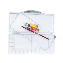 Великолепная увлажняющая палитра акварельных красок профессиональная пластиковая палитра акварельных красок