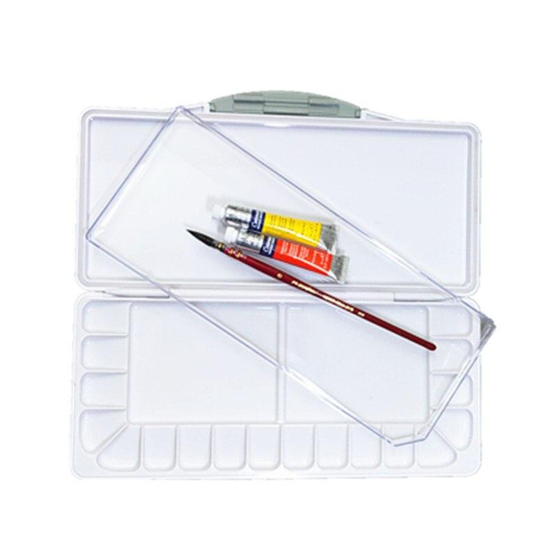 Superior Moisturizing Watercolor Paint Palette Professional Plastic Watercolor Art Palette Supplies Paleta Acuarela