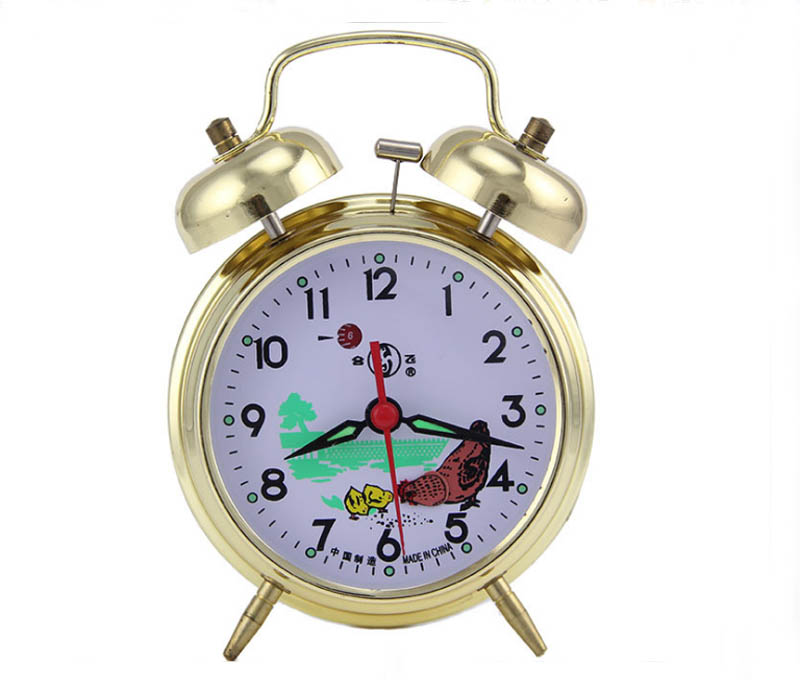 Smoking set Mechanical alarm clock