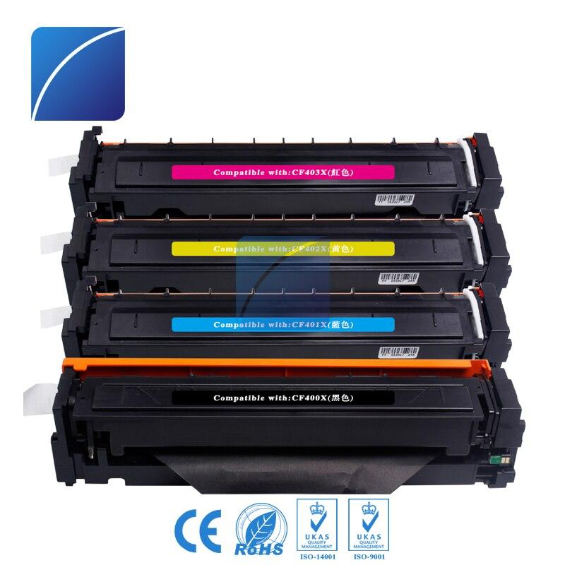 CF400X 400x CF401X CF402X CF403X Toner Cartridge Compatible for HP Color LaserJet Pro M252dw/M252n MFP M277DW laser printer use for hp 4730 toner cartridge toner cartridge for hp color laserjet 4730 printer use for hp toner q6460a q6461a q6462a q6463a