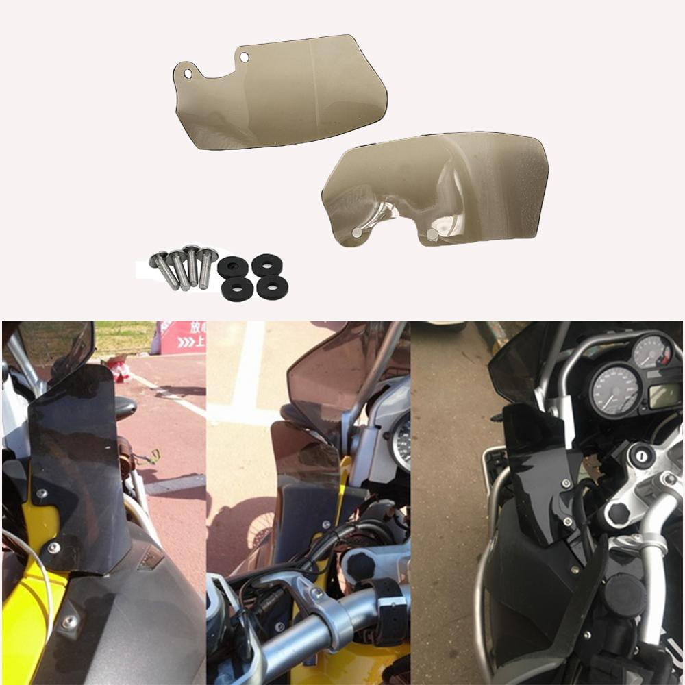 Motocycle Accessories Windscreen Panels Windshield left right Wind Deflector For <font><b>BMW</b></font> R1200GS / ADV R 1200 <font><b>GS</b></font> <font><b>R1200</b></font> <font><b>2004</b></font> - 2012 image