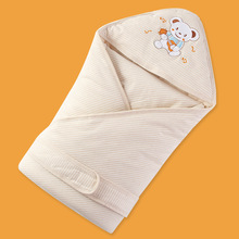 Cotton Baby Winter Blankets Newborn Baby font b Swaddling b font Blankets Children Products Blanket Newborn