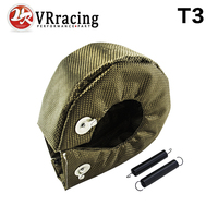 VR RACING 100 Full TITANIUM Turbo Heat Shield T3 Turbo Blanket Fit T2 T25 T28 Gt28