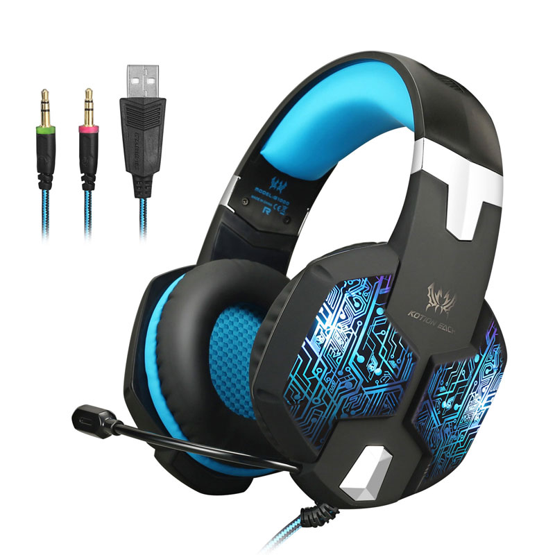 Computer Big Earphone Headphone Gaming Headset Microphone PC Earphone Gamer Headset casque Gaming Headphone Wire With Microphone