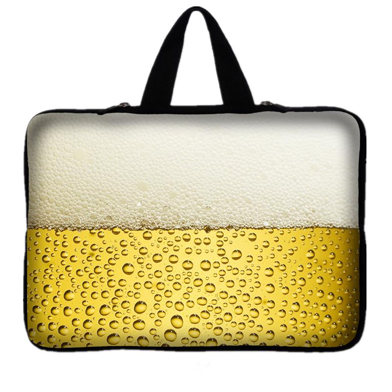 New 15 Laptop Bag Beer Notebook Case Sleeve Cover Handle For 15 15.4 15.5 15.6 Notebook For Dell XPS Toshiba Thinkpad Acer