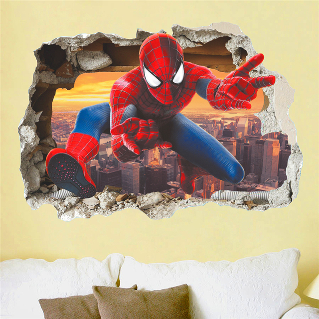 Spiderman Breaks Through 2