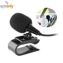 Vapeonly 3,5 мм внешний микрофон мини автомобильный аудио проводной микрофон w/U образный крепежный зажим для авто DVD радио плеер с микрофоном 3 м длиной