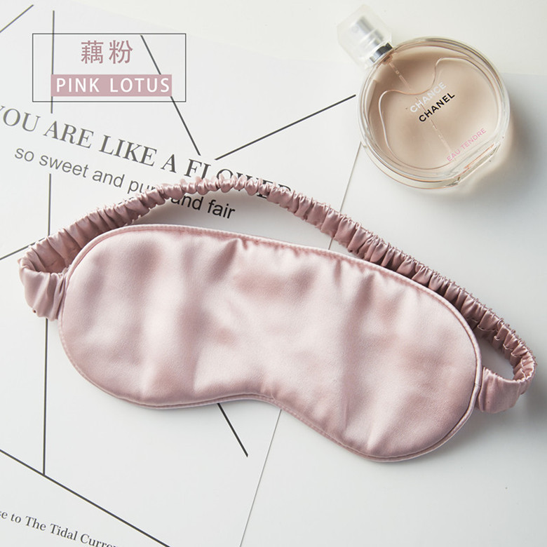 100% Pure Natural Silk Sleep Mask Eye Patch Blindfold High Quality 19 Momme Wholesale Custom Packaging Box Or Logo Embroidery