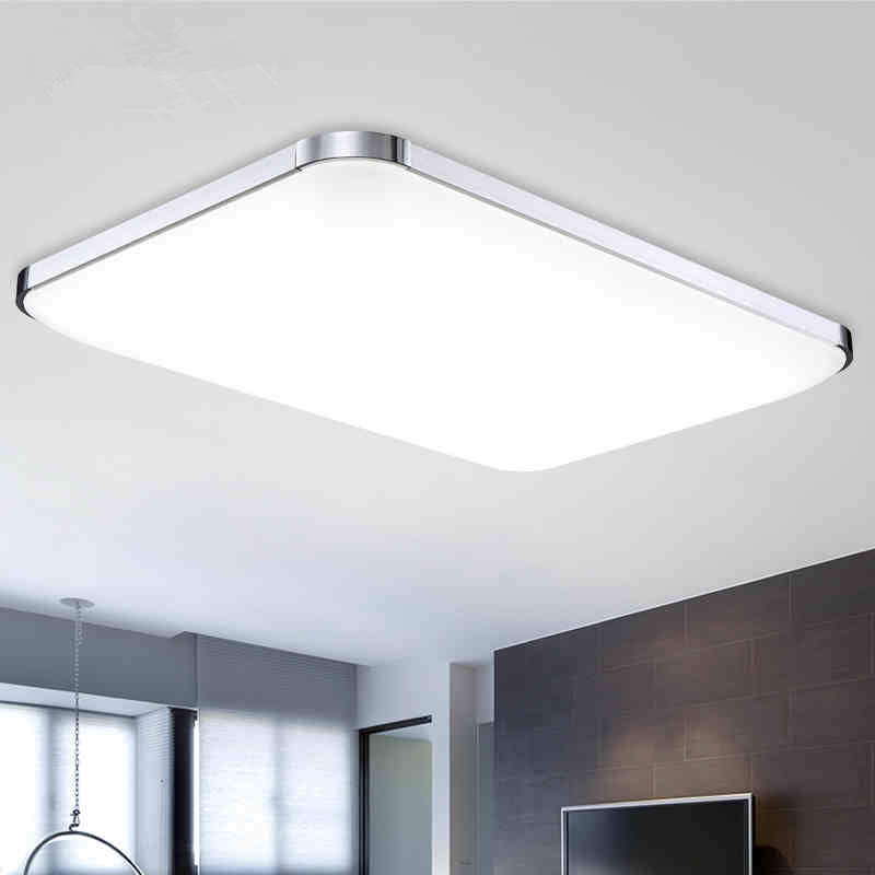 aliexpress buy modern flush mount led ceiling lights living room aluminum acryl lshade