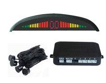 Digital LED Display Car Parking Sensor System Distance Detector Reverse Radar with 4 sensors For Vehicle Backup Reversing
