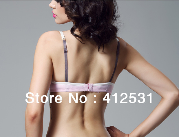 59cff4dedb nylon soft and comfortable unpadded non padded soft cup thin cup comfy  underwire push up bra-in Bras from Underwear   Sleepwears on Aliexpress.com