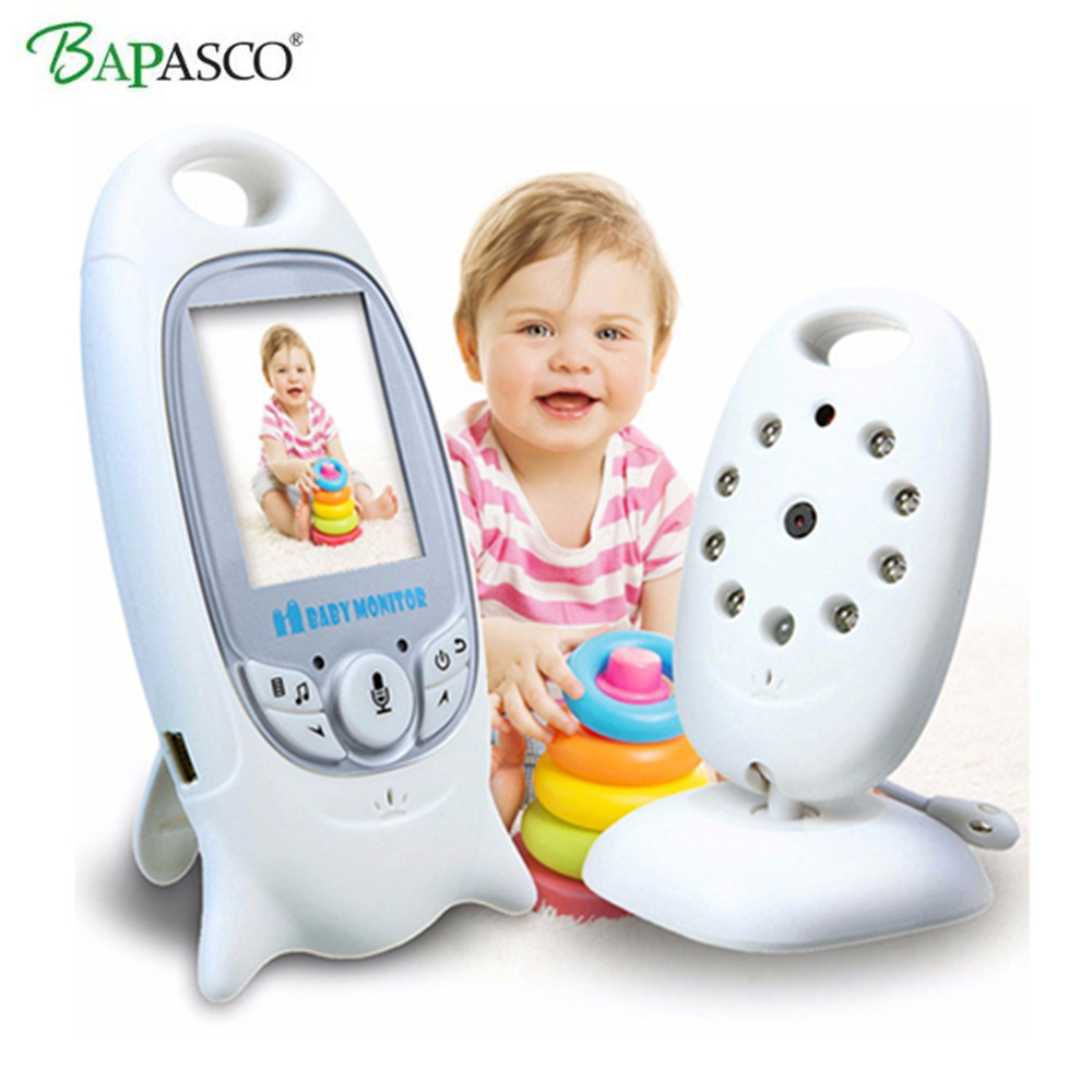 Moniteur bébé sans fil 2 pouces BeBe Baba Babysitter électronique Radio vidéo nounou caméra Vision nocturne surveillance de la température VB601