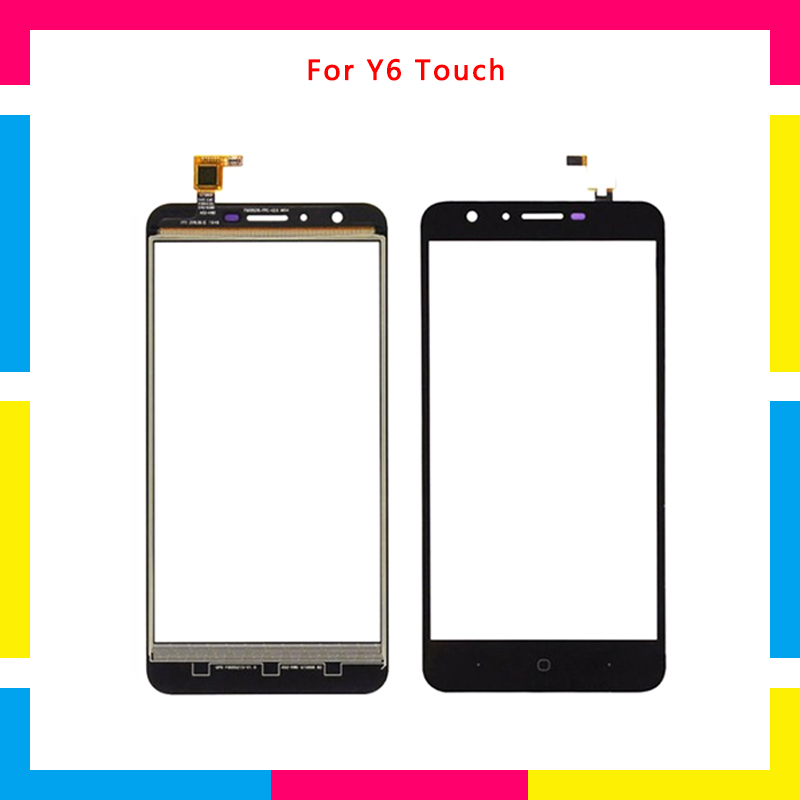 High Quality 5.5 For Doogee Y6 Y6C Touch Screen Digitizer Sensor Outer Glass Lens Panel