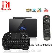 X92 2GB/3GB 16GB/32GB Android 6.0 TV Box Amlogic S912 Octa Core KD Media Player 5G Wifi Bluetooth4.0 4K Smart X92 Set Top Box