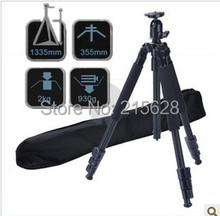 Profesional colombófilo DV digitaces SLR portátil trípode equipo fotográfico de la cámara que viaja trípode con cabeza de bola + bolsa 3642B