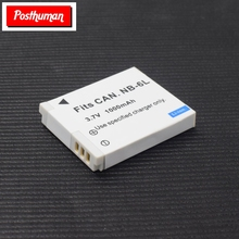 Original 1000mAh For Canon Powershot Camera NB-6L Rechargeable Li-ion Battery S90 S95 S120 SX240 HS SX275 SX280 SX510