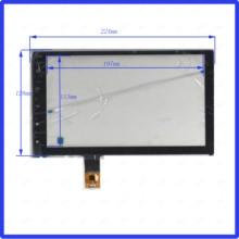 ZhiYuSun ZP2262-9-J совместимый 10,1 дюймов емкостный экран стекло для gps автомобиля 224 мм* 128 мм GT911 линия справа