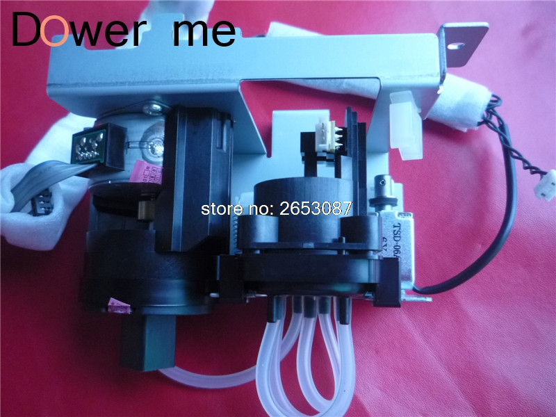 original new air pump unit cleaning pump assembly for Epson 9400 9450 7800 7400 7450 7880 9800 9880C 7550S 9550S ASSY original new dx5 cap top station for epson stylus pro 7400 7450 7800 7880 9450 9800 9880 inkjet printer ink pump clean unit