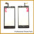 Nova tela de toque original para philips xenium w3500 sensor do painel de toque digitador substituição do telefone móvel, Cor preta