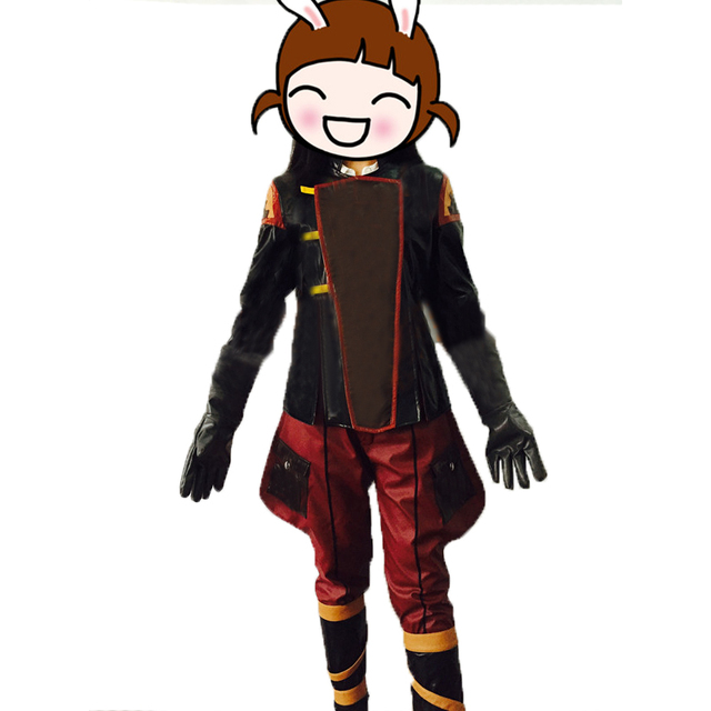 avatar the legend of korra asami sato uniform cosplay costume full
