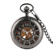 Винтаж Элитный бренд Цепочки и ожерелья мужские карманные часы