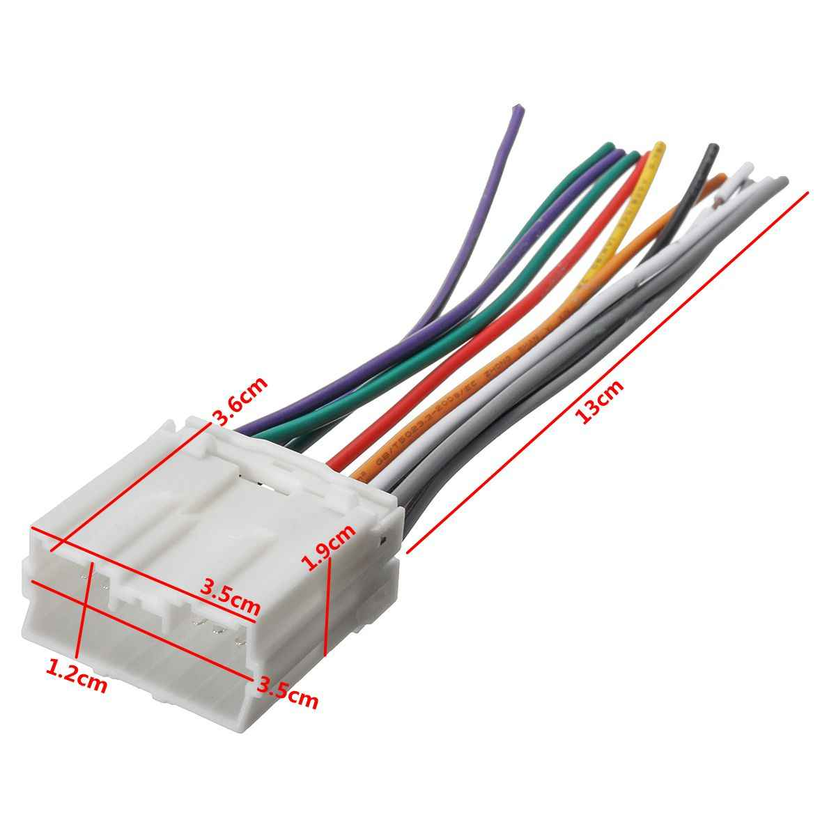 Wiring Harness For Car Stereo - Wiring Diagram Srconds on