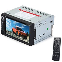 6201A Double Din Car DVD Player DIVX/DVD /VCD/CD/USB/Bluetooth Auto Multimedia Player 2 Din MP5 Audio Player Remote Controller