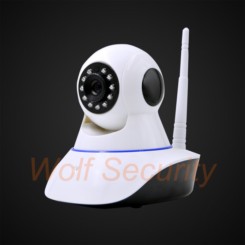 2 4G Wifi Alarm font b Camera b font Network Alarm Compatible with 433MHz wireless detector