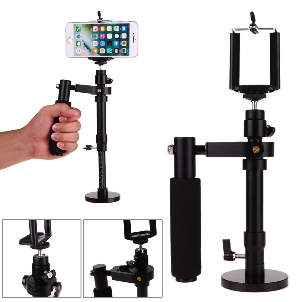 Adjustable Handheld Steadicam Video Shooting Stabilizer Steadycam For SJCAM Gopro DSLR Cameras For IPhone 6 7 Plus Samsung Phone