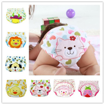 1pc Baby Waterproof Reusable  cotton Diapers/Children Cloth Diaper/Reusable Nappies/Training Pants/Diaper Cover Washable NB004 baby cloth diaper washable diapers reusable baby nappies zeechi wholesale baby cotton couvre couche lavable