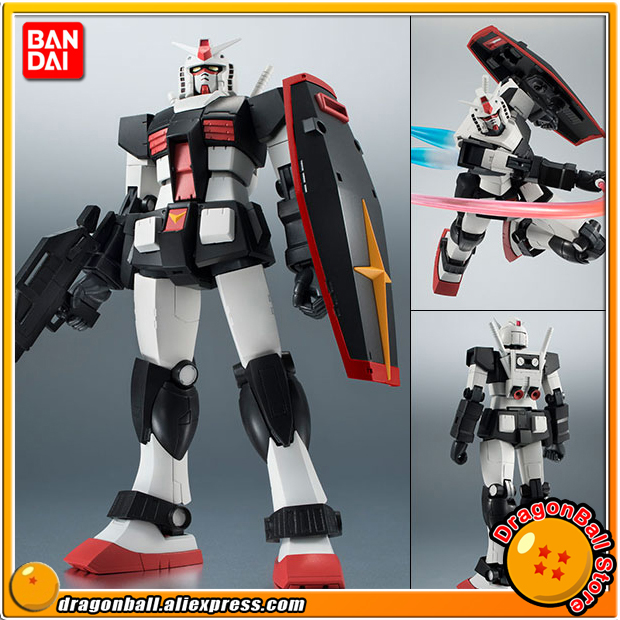 Mobile Suit Gundam Original BANDAI Tamashii Nations Robot Spirits 224 Action Figure - RX-78-1 Prototype Gundam ver. A.N.I.M.E. original bandai tamashii nations robot spirits exclusive action figure rick dom char s custom model ver a n i m e gundam