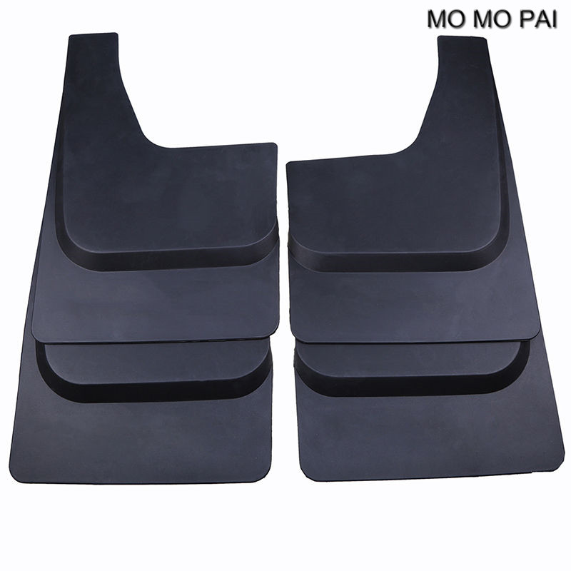 MOMO PAI  Car styling Mud Flaps Splash Guard Mudguard Fender Front Rear for Ford Raptor F-150 2016 -2017 Defensa 4PCS/set car accesorios styling for nissan patrol y62 2017 mudguards mud flaps splash guards mud guards mudguard mud guard 4pcs set