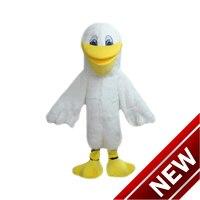 2018 новая белая птица чайки Маскоты костюм персонажа из мультфильма Косплэй пользовательских продуктов настроены Бесплатная доставка
