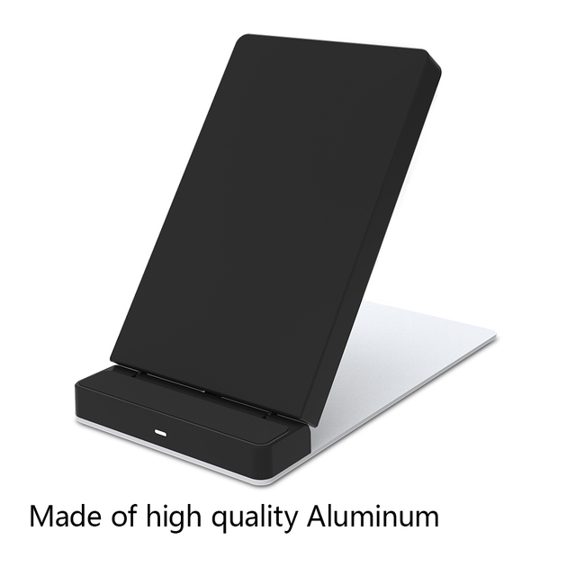 New 10W Qi Standard Fast wireless charging pad For Samsung S7,S7 Edge, Note 5, S6 Edge Plus Foldable Stand