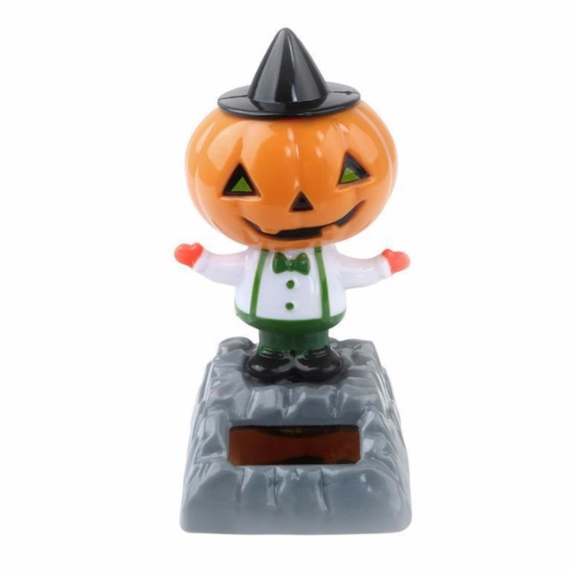 New Christmas Halloween Dancing Car Cute Adorable Multi style Solar Powered Table Home Decor Gifts Kids Solar Power Toy #281237 2
