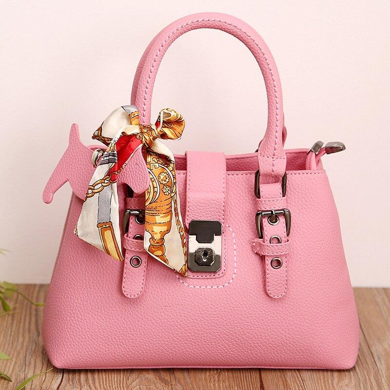 Brand handbag Single shoulder <font><b>bag</b></font> Single shoulder <font><b>bag</b></font> ladies fashion Litchi grain portable oblique across <font><b>packages</b></font>#h327
