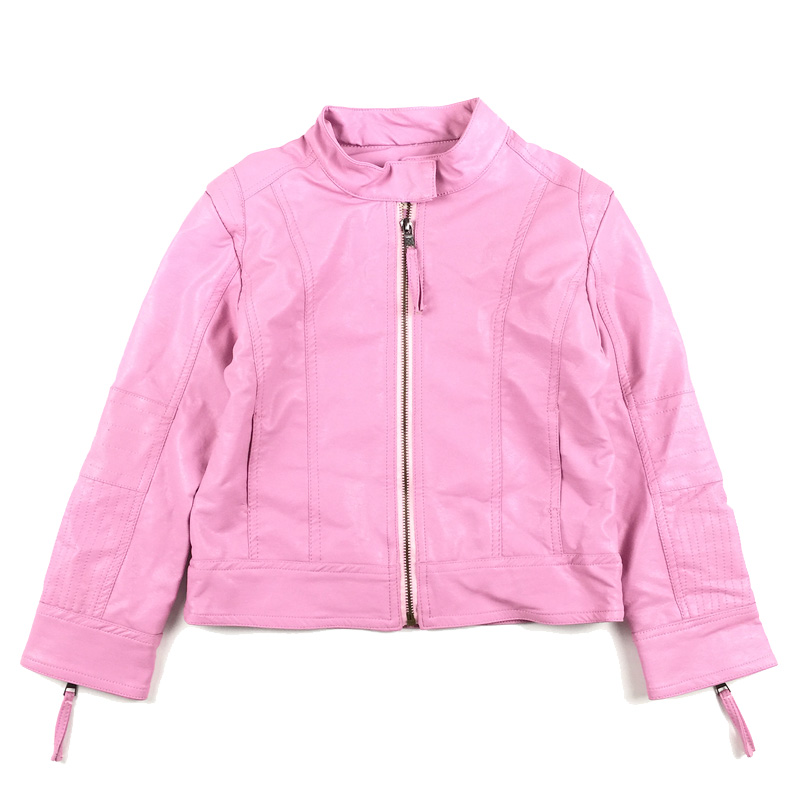 5 6 7 8 9 10 11 12 13 14 15 Years Girls Leather Jackets And Coat 2017 New Teenager Girls Fashion Outwear Kids Teens Clothing 2017 new girls page 8
