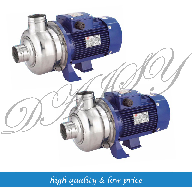 220v 380v BK150 P Stainless steel Centrifugal Water Pump For Tableware disinfection