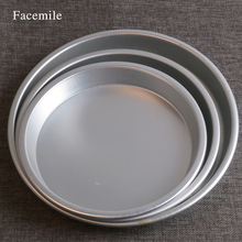 Facemile 7/8/9 Inches Aluminum Baking Pan Bread Cake Pudding
