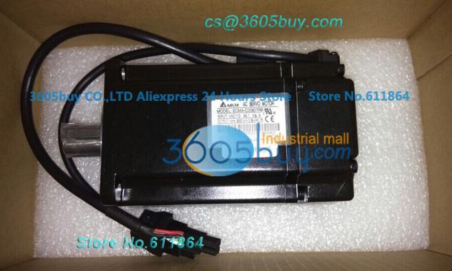 New Original ECMA-C30401FS Delta AB Series Servo 40mm 220V 3000rpm With Brake keyway 100W 0.1KW