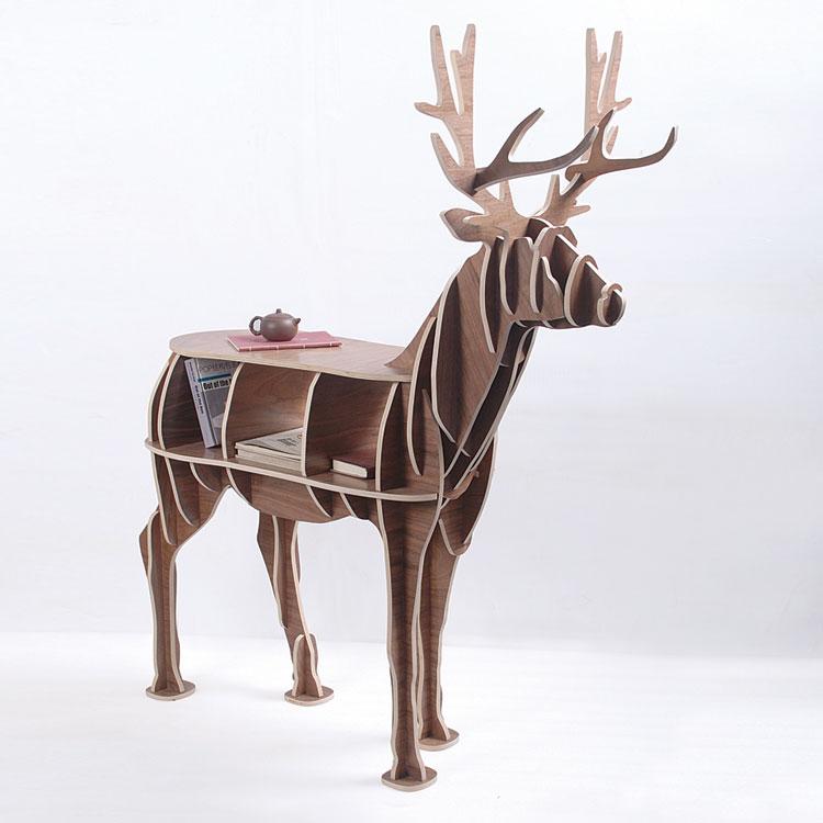 Unique Wood Home Furniture ~ J e high end quot height wood deer home furniture unique
