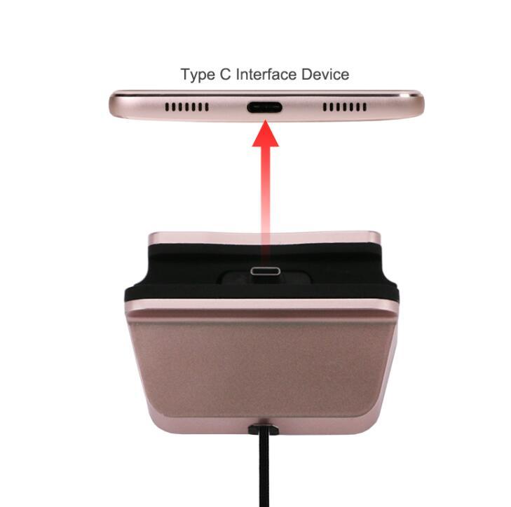 Snabbladdning USB-typ Dockstation för Oneplus 6 5T 5 3T 3 2 1 Zuk Z1 - Reservdelar och tillbehör för mobiltelefoner - Foto 2