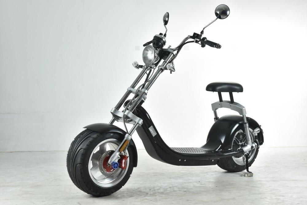 Livraison gratuite à l'europe cee/coc 1000 w 60 v 20ah batterie au lithium électrique citycoco scooter scrooser dogebos taxes/ droit de douane payé