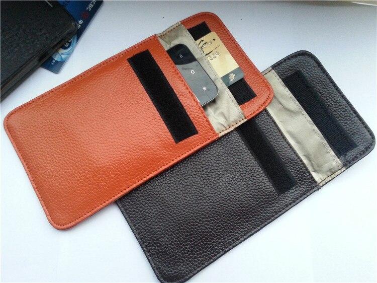 10 шт. новый мобильный телефон натуральная кожа чехол радиочастотного сигнала не излучения щит сумка для Iphone 5 5C 5S 6 6S 6 7 Большие