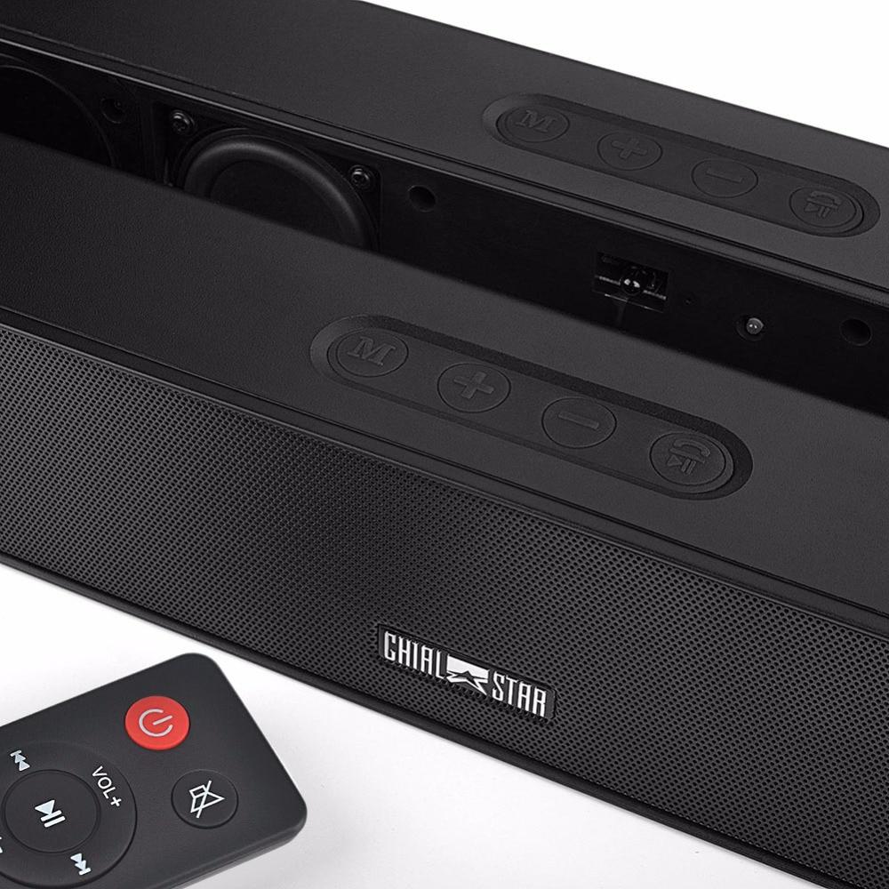 Soundbar 24W сымсыз дыбыс жолағы 21 дюйм 2.0 - Портативті аудио және бейне - фото 2