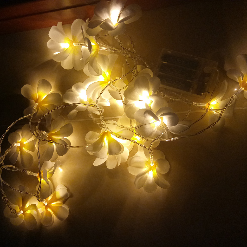 Led String Lights Reject Shop: Creative DIY Flowers LED String Light